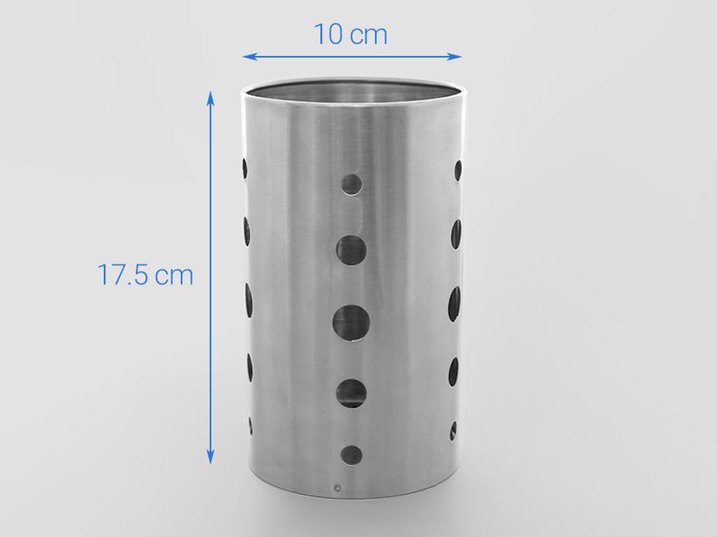 Ống đựng đũa inox DMX DD001-17.5 6