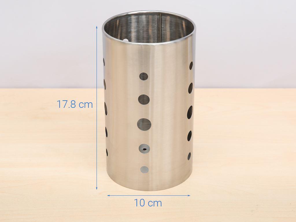 Ống đựng đũa inox DMX DD001-17.5 5