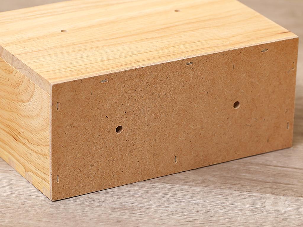 Ống đựng đũa đôi gỗ Bách hoá XANH ND852 5