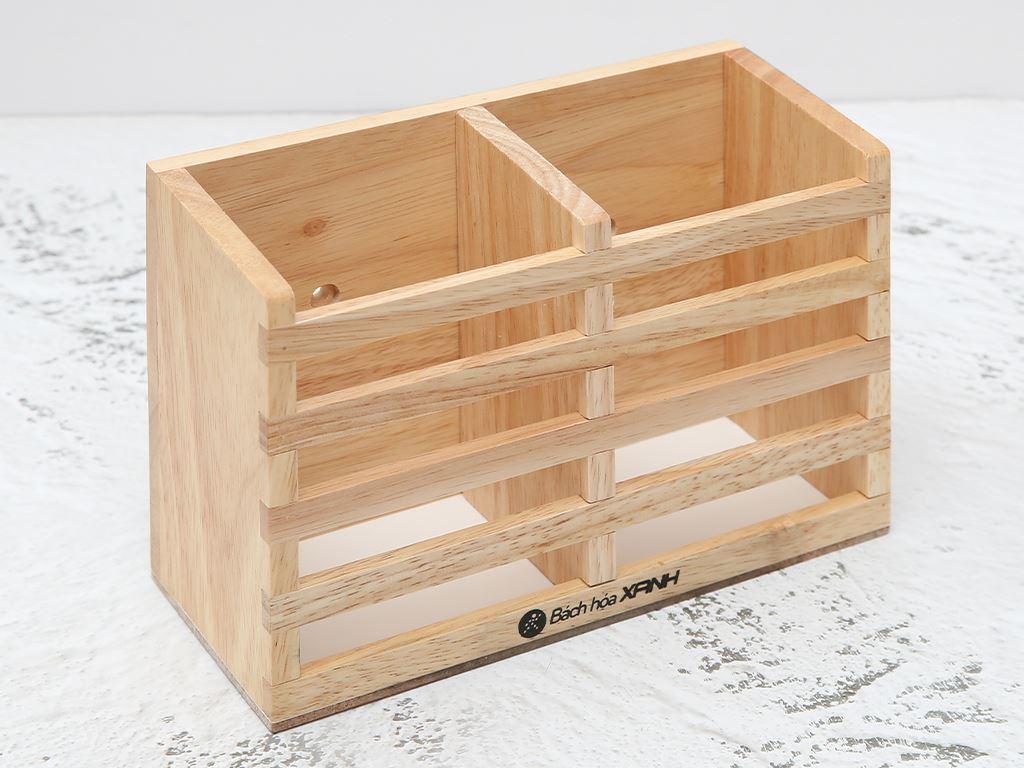 Ống đựng đũa đôi gỗ BHX ND852 1