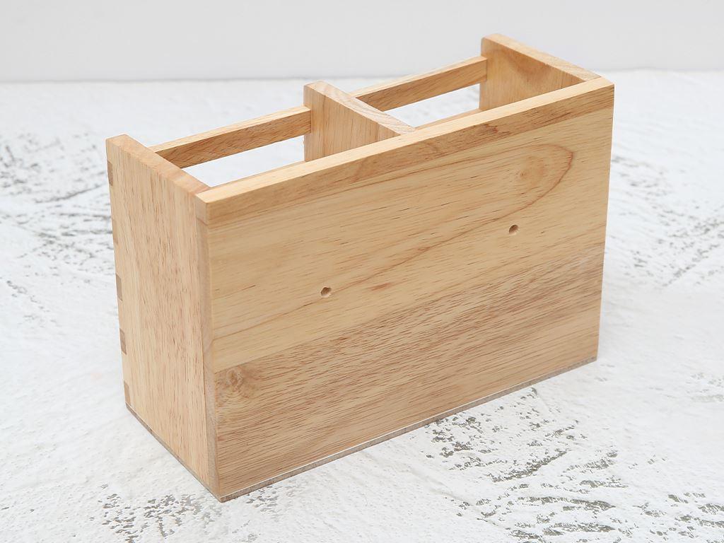 Ống đựng đũa đôi gỗ BHX ND852 2