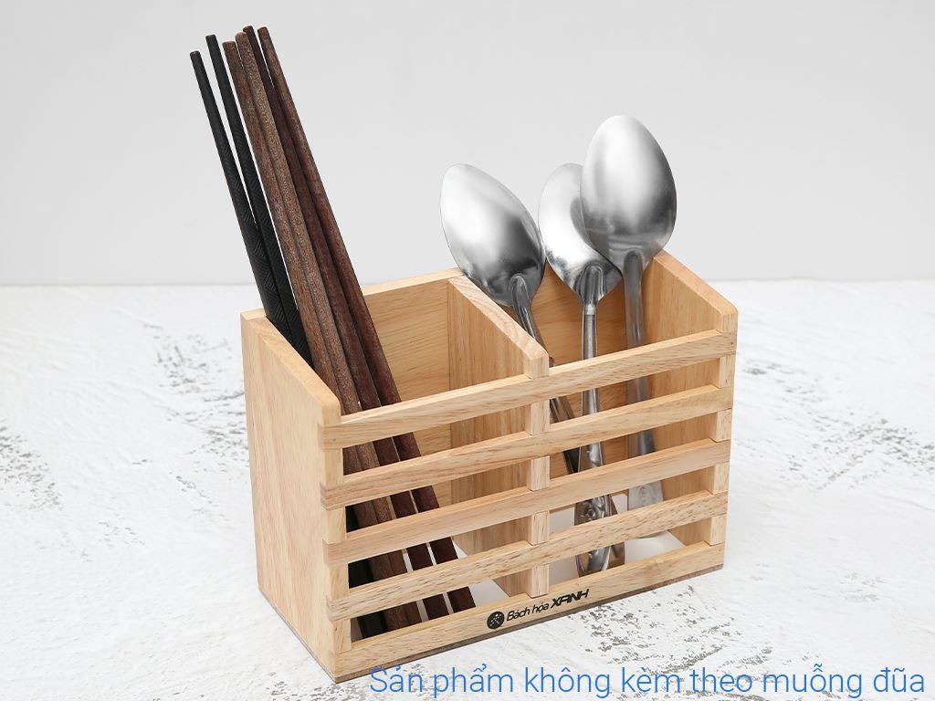 Ống đựng đũa đôi gỗ BHX ND852 4