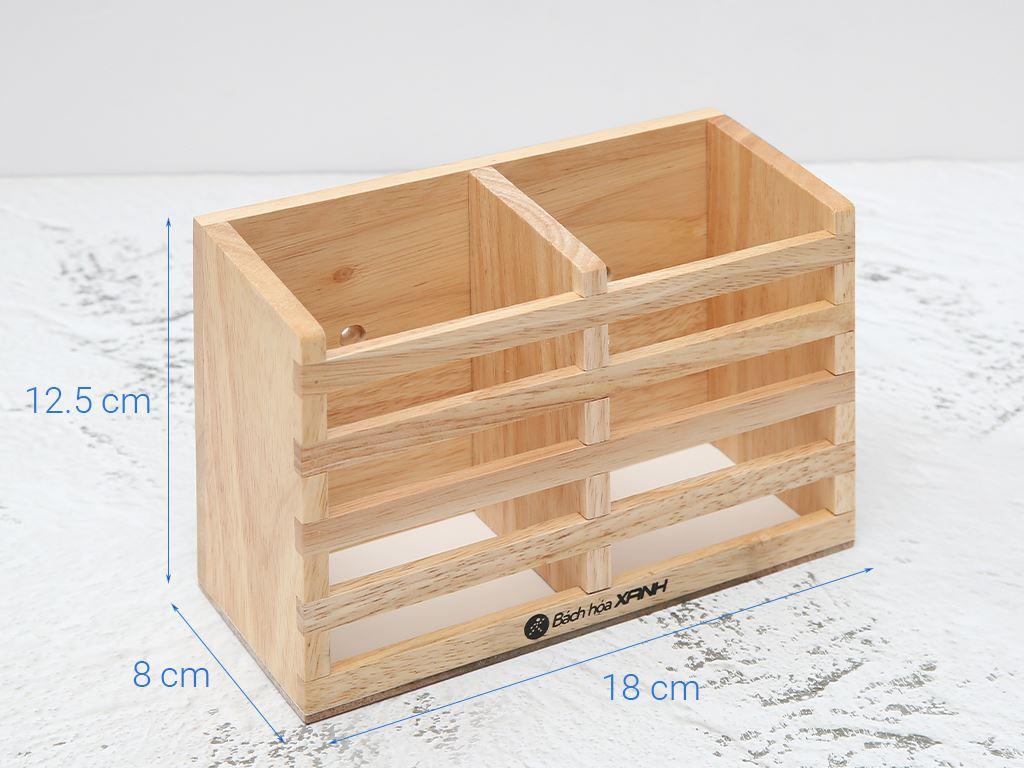 Ống đựng đũa đôi gỗ BHX ND852 5