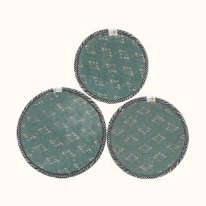 Bộ 3 lót nồi tròn Tân Bách Phát (giao màu ngẫu nhiên)
