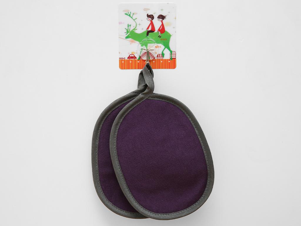 Bộ nhấc nồi oval cotton Vina Towel BB02 (Giao màu ngẫu nhiên) 3