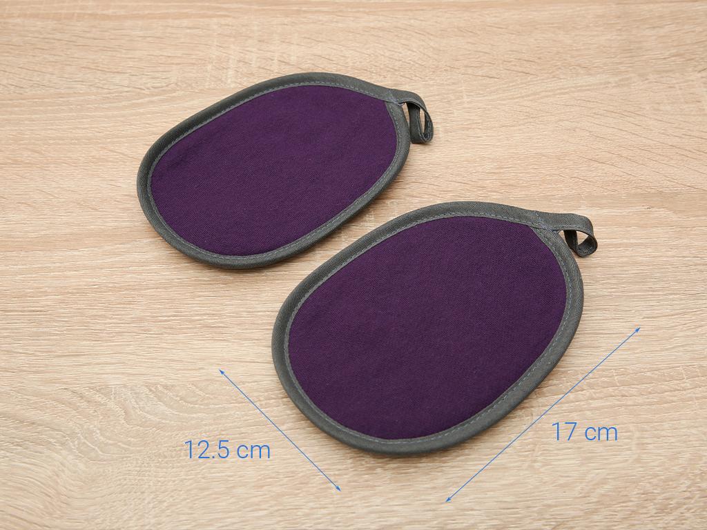 Bộ nhấc nồi oval cotton Vina Towel BB02 (Giao màu ngẫu nhiên) 5