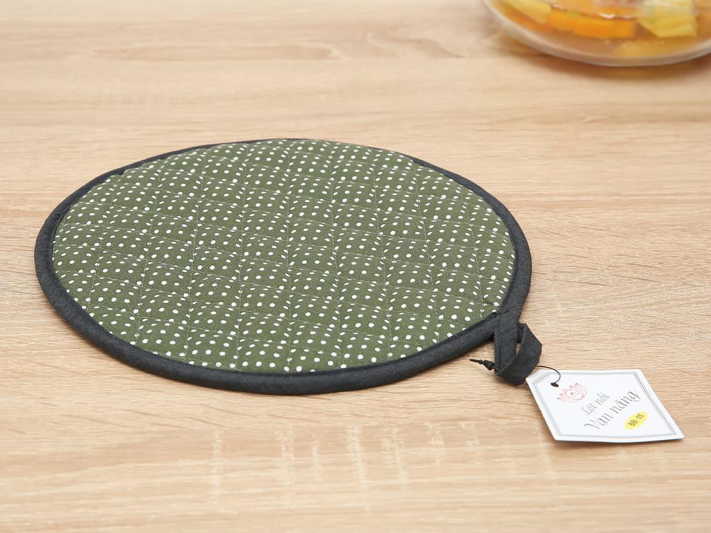 Lót nồi tròn cotton Vina Towel BB05 1