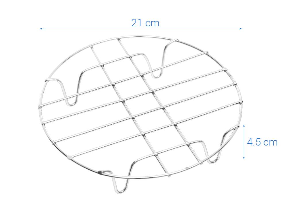 Rế hấp, lót nồi tròn inox Tân Bách Phát DN20 4