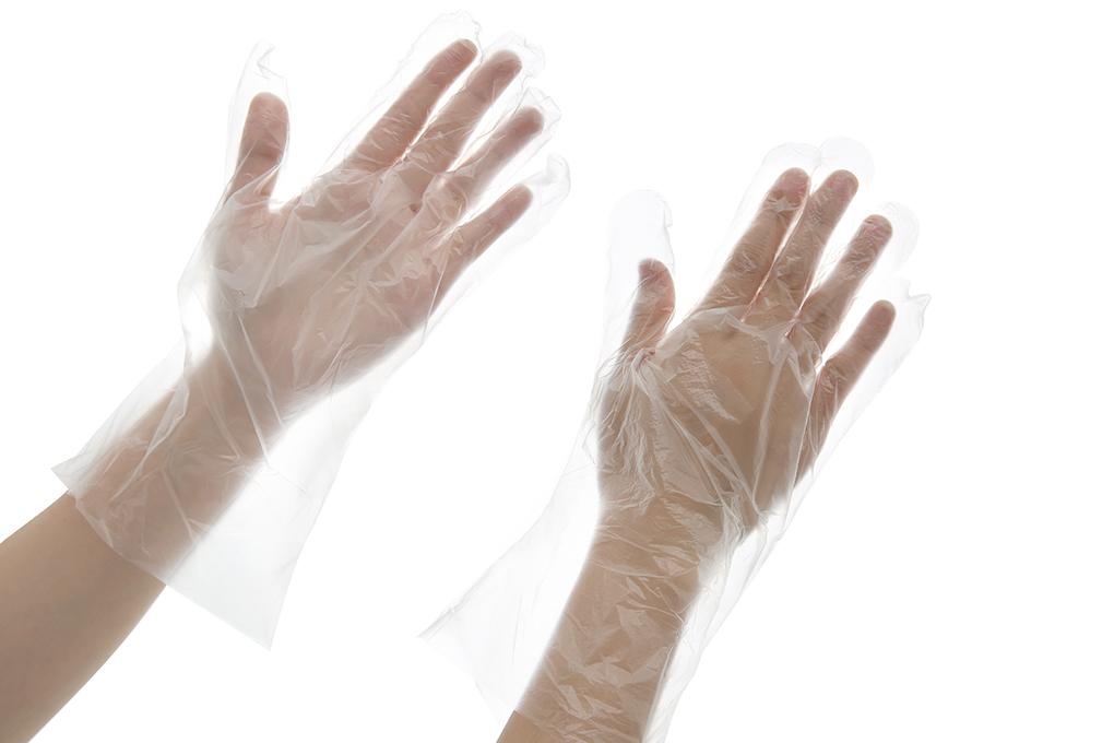 Găng tay tự huỷ sinh học Green Eco 100 cái Size L