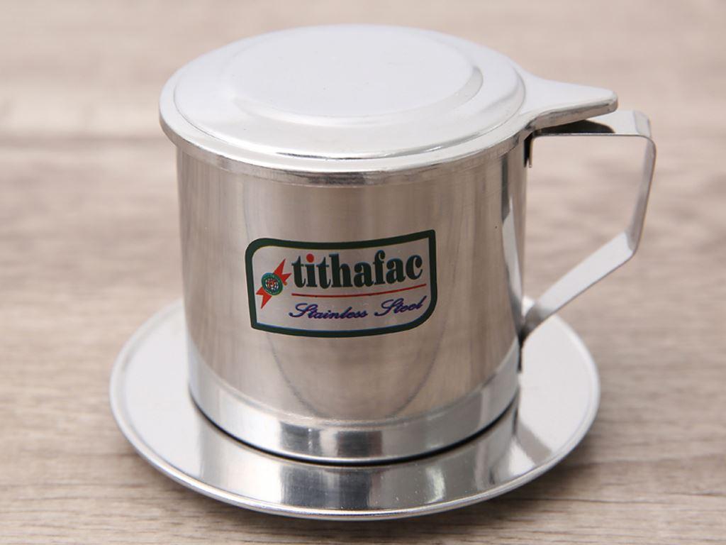 Phin cà phê inox Tithafac 8cm 2