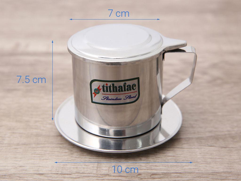 Phin cà phê inox Tithafac 8cm 9