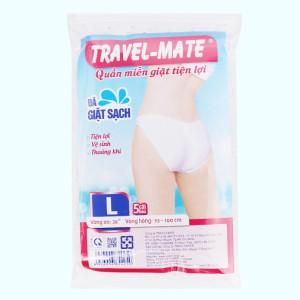 5 cái quần lót mặc một lần nữ Travel-Mate size L