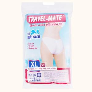 5 cái quần lót mặc một lần nữ Travel-Mate size XL