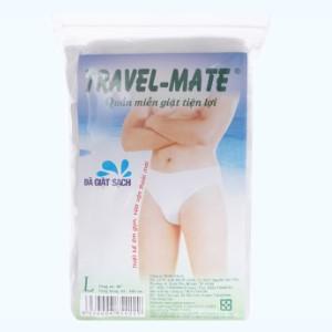 5 cái quần lót mặc một lần nam Travel-Mate size L