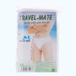 5 cái quần lót mặc một lần nam Travel-Mate size XL