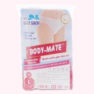 5 cái quần lót mặc một lần nữ Body-Mate size L