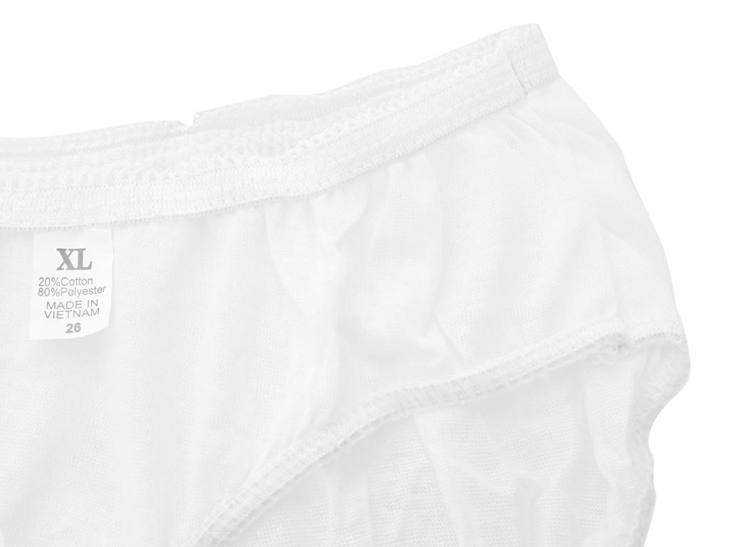 5 cái quần lót mặc một lần nữ Body-Mate size XL 4