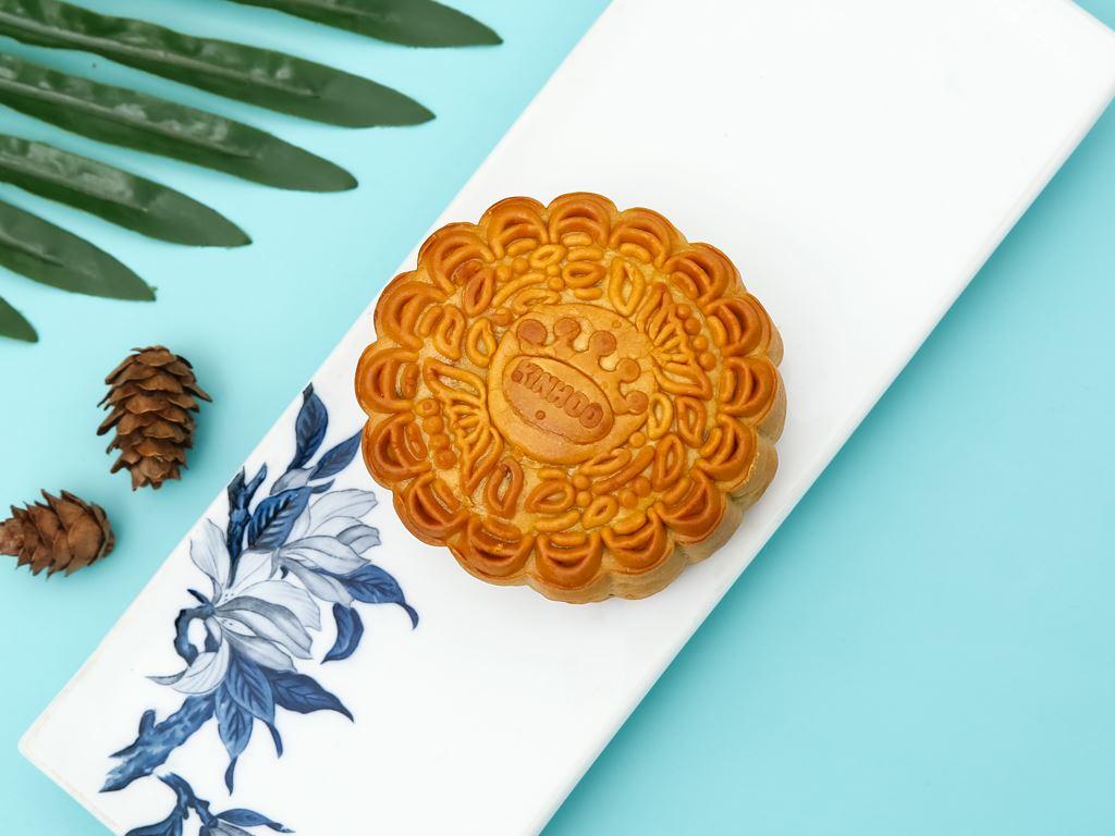 Bánh trung thu Kinh Đô thập cẩm jambon 1 trứng 150g 2
