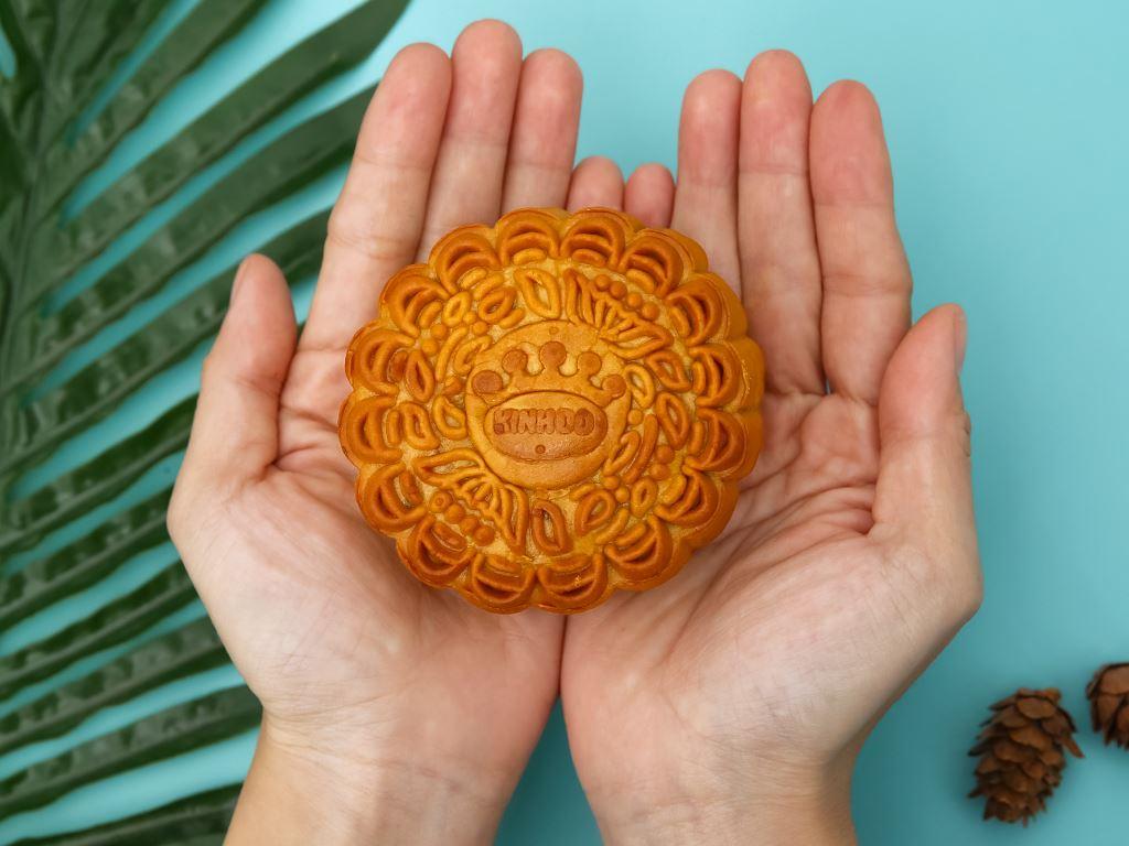 Bánh trung thu Kinh Đô thập cẩm jambon 1 trứng 150g 4