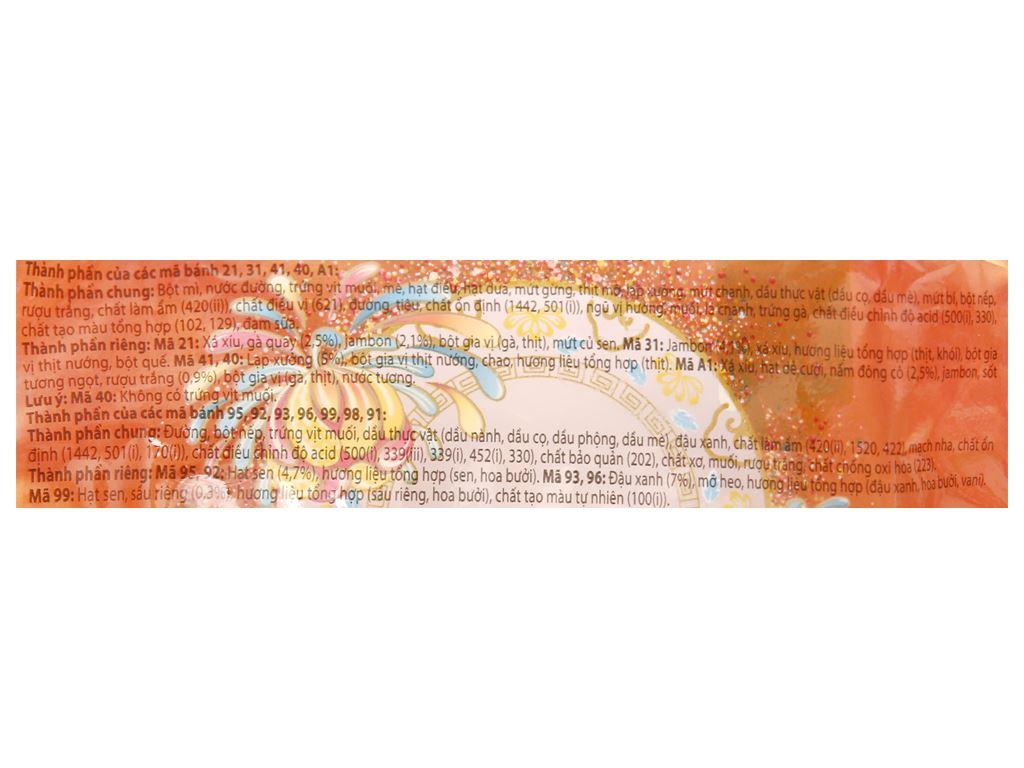 Bánh trung thu Kinh Đô thập cẩm jambon 1 trứng 150g 8