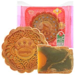 Bánh trung thu Kinh Đô hạt sen trà xanh 1 trứng 150g