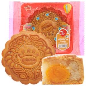 Bánh trung thu Kinh Đô sữa dừa hạt dưa 2 trứng 230g