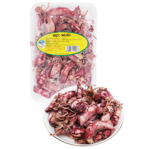 Mực muối Hồng Hương khay 250g