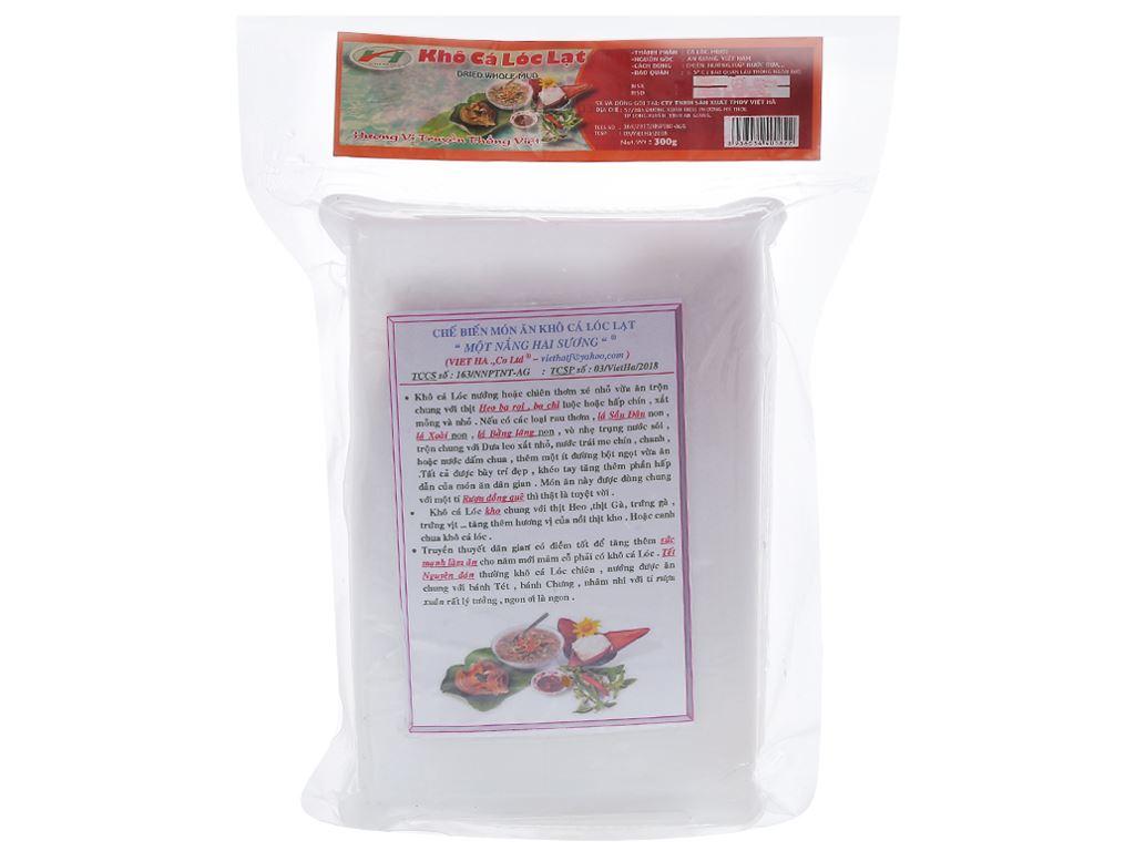 Khô cá lóc lạt Việt Hà khay 300g 2
