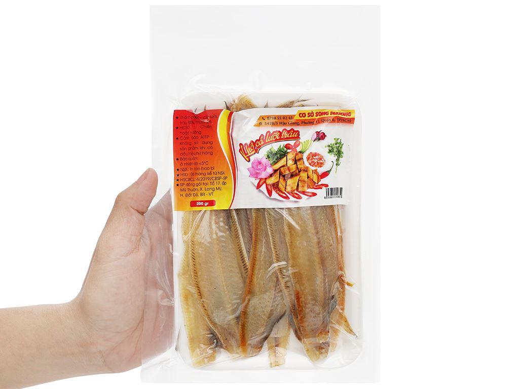 Khô cá lưỡi trâu Song Phương khay 200g 3
