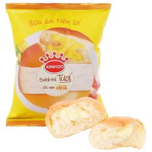 Bánh mì tươi tròn vị bơ sữa Kinh Đô 55g