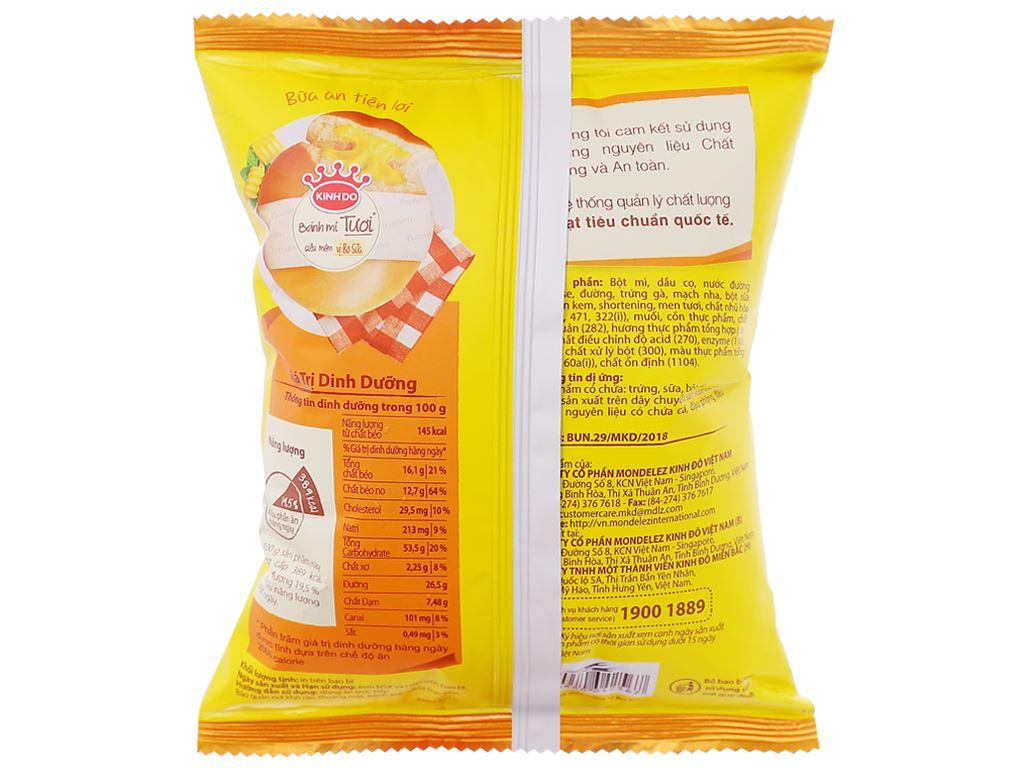 Bánh mì tươi tròn vị bơ sữa Kinh Đô 55g 2