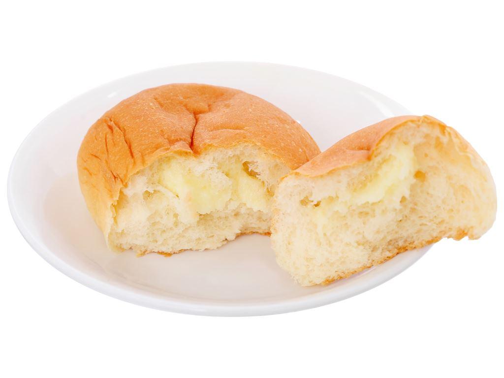 Bánh mì tươi tròn vị bơ sữa Kinh Đô 55g 5