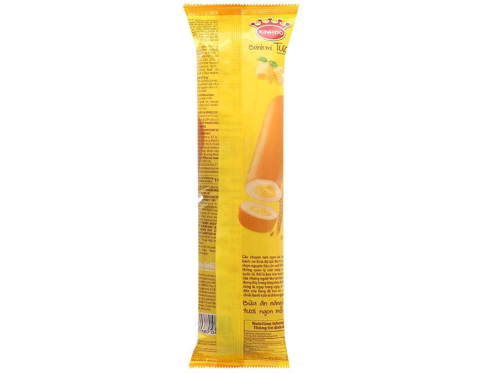 Bánh mì tươi ổ dài nhân bơ sữa Kinh Đô 90g 2