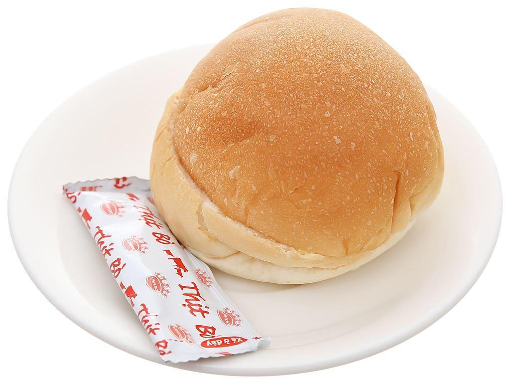 Bánh burger tươi thịt bò Kinh Đô gói 70g 6