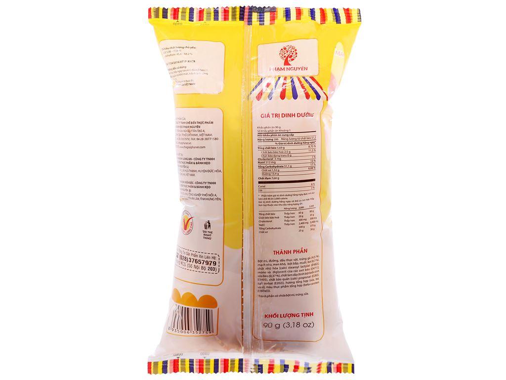 Bánh mì tươi nhân bơ sữa Otto gói 90g 2