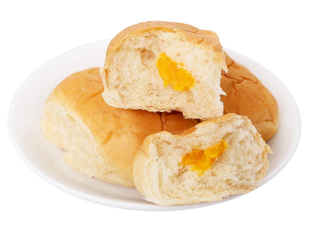 Bánh mì tươi nhân sữa hột gà Otto gói 90g 4