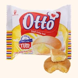 Bánh trứng tươi nhân kem custard Otto gói 38g