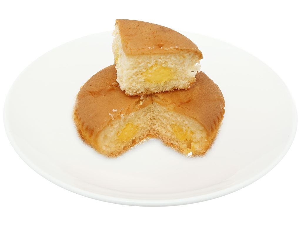 Bánh trứng tươi nhân kem custard Otto gói 38g 6