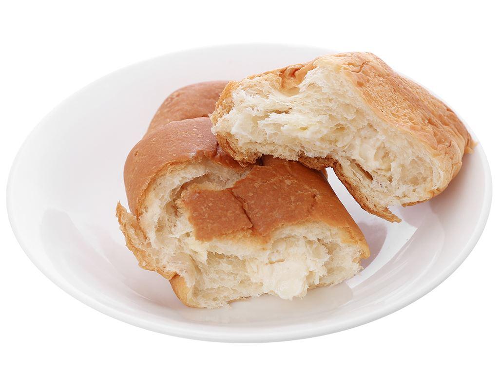 Bánh croissant nhân kem vani Moonfils Bauli gói 47g 4