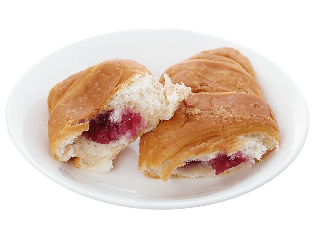 Bánh croissant nhân mứt dâu Moonfils Bauli gói 47g 4