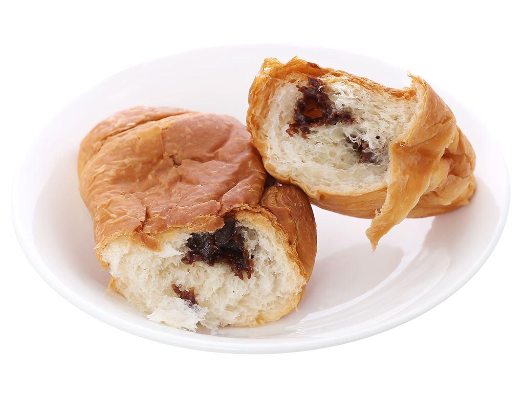 Bánh croissant nhân kem socola Moonfils Bauli gói 47g 4