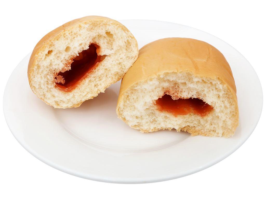 Bánh mì tươi nhân đậu đỏ Kisshu gói 50g 7