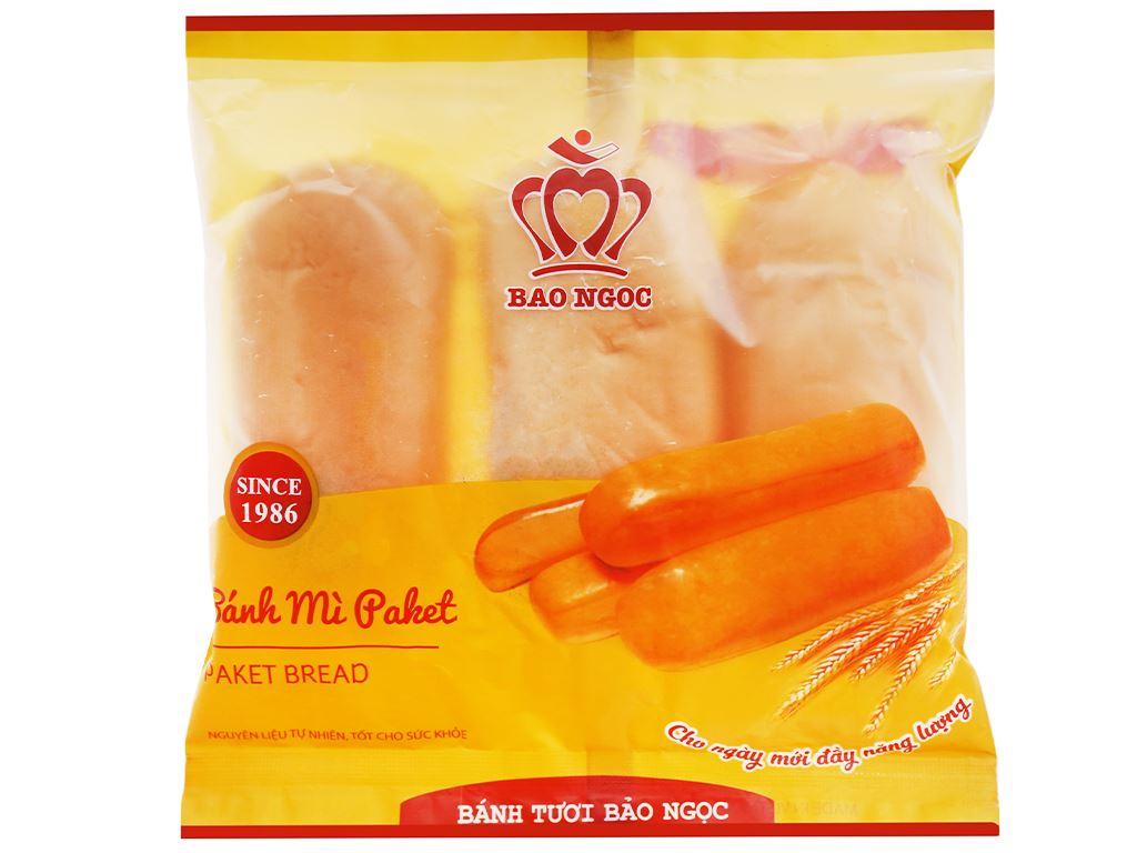 Bánh mì paket Bảo Ngọc gói 108g (3 cái) 2