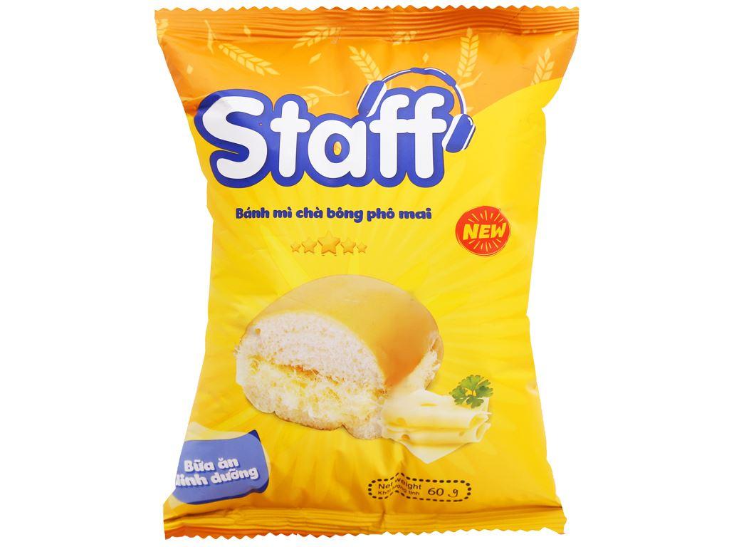 Bánh mì chà bông phô mai Staff gói 60g 1