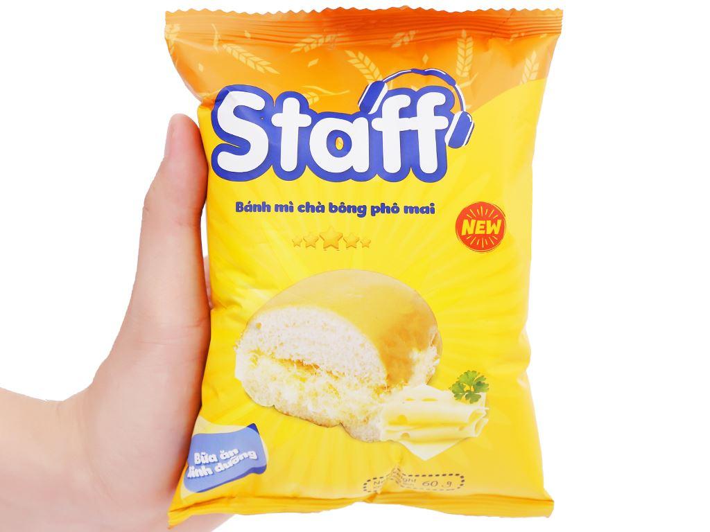 Bánh mì chà bông phô mai Staff gói 60g 5