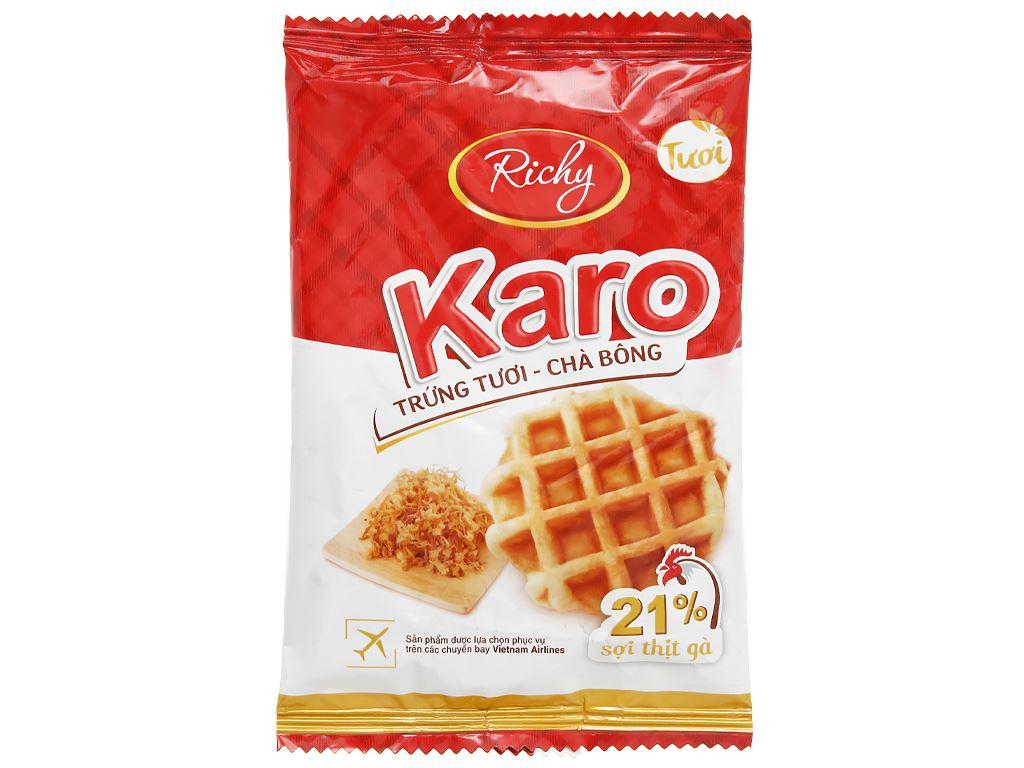Bánh trứng tươi - chà bông Karo Richy gói 26g 1