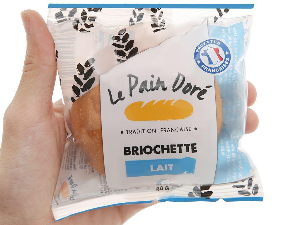 Bánh mì briochette lait Le Pain Dore gói 40g 4