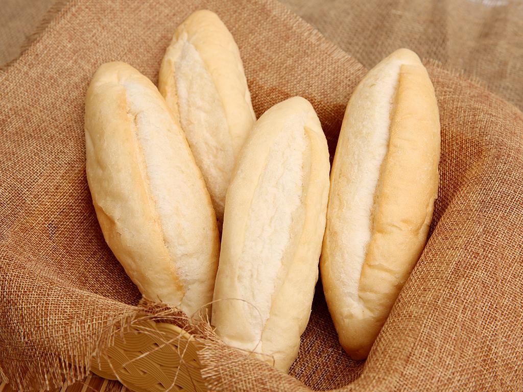Bánh mì tươi đông lạnh O'smiles gói 350g (70g x 5 ổ) 1