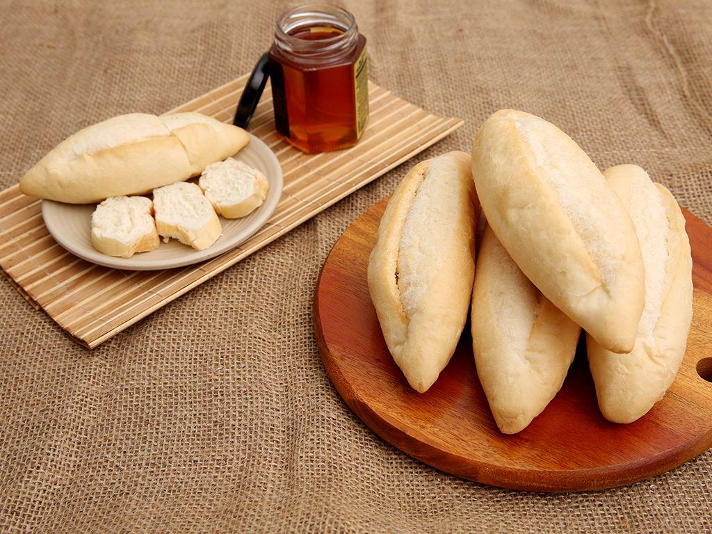 Bánh mì tươi đông lạnh O'smiles gói 350g (70g x 5 ổ) 2