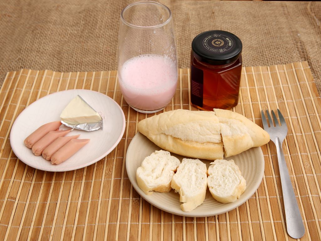 Bánh mì tươi đông lạnh O'smiles gói 350g (70g x 5 ổ) 3